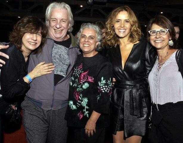 Denise Bandeira, Marco Nanini, Guida Vianna, Leona Cavalli e Clarisse Derzié Luz