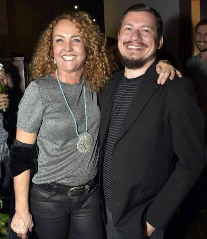 Juliana Teixeira e Guilherme Scarpa