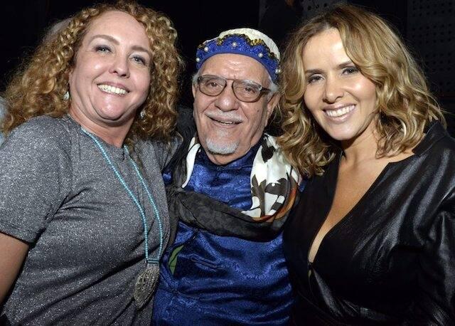 Juliana Teixeira, Amir Haddad e Leona Cavalli