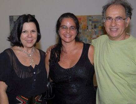"""OBRA REUNIDA"" — VANDA KLABIN, ADRIANA MACIEL E RUBEM GRILLO /Foto: Paulo Jabur"