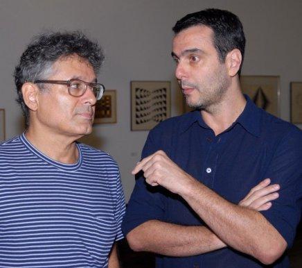 """""""OBRA REUNIDA"""" — PAULO VENÂNCIO FILHO E MAURO SARAIVA /Foto: Paulo Jabur"""