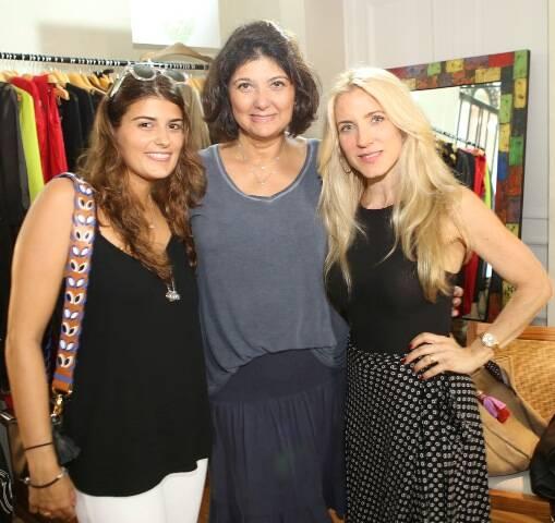 Fernanda Pessoa, Renata Seixas e Heide Duarte