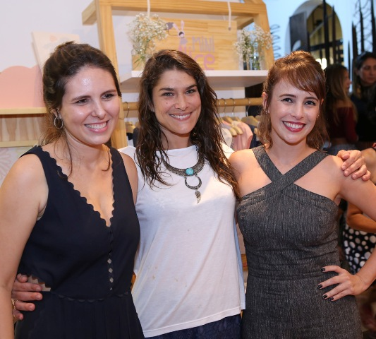 Juliana Couto, Priscila Fantin e Juliana Nobre
