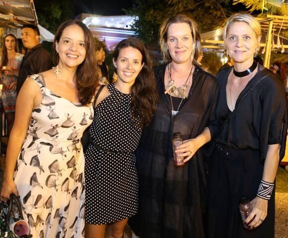 Laura Pires, Fabiana Zanin, Cris Rosenbaum e Paola Müller