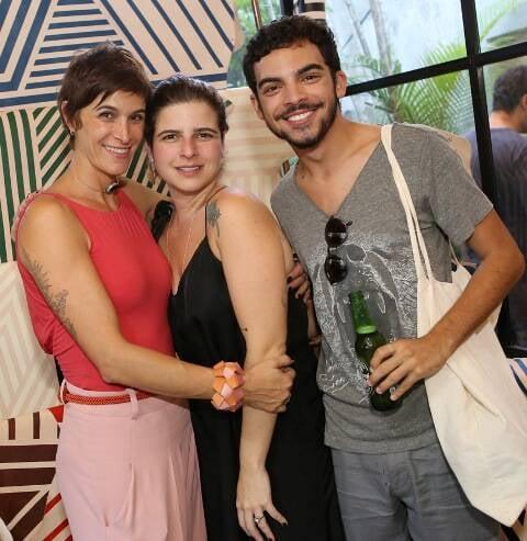Marai Valente, Giovanna Machline e Matheus Malafaia