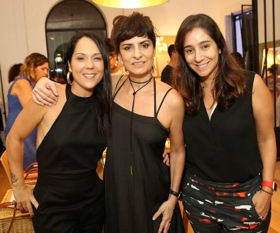 Tati Accioli, Fernanda Abreu e Antônia Leite Barbosa