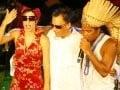 """SARAU DU BROWN"" — OS TRIBALISTAS: MARISA MONTE, ARNALDO ANTUNES E CARLINHOS BROWN /Foto: Fred Pontes"