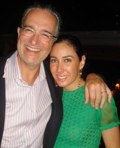 """JANTAR MARIO GARNERO"" — RICARDO E MARIA LAURA SALINAS. O BANQUEIRO MEXICANO ADOROU A NOITE OFERECIDA POR GARNERO"