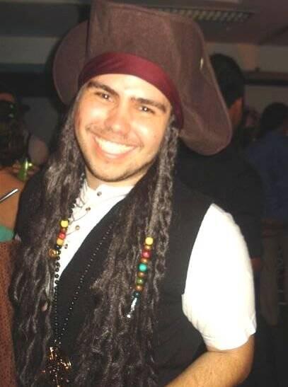 """""""FESTA DE PURIM"""" — LEONARDO REIS: O PIRATA JACK SPARROW"""
