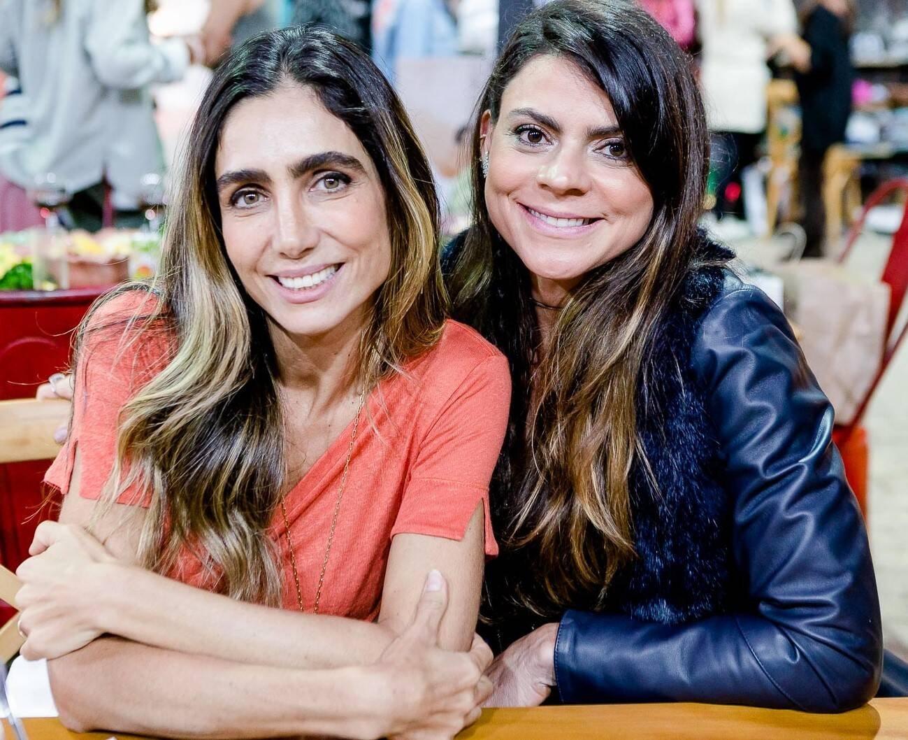 Andrea Santa Rosa e Ana Paula Lou  /Foto: Bruno Ryfer