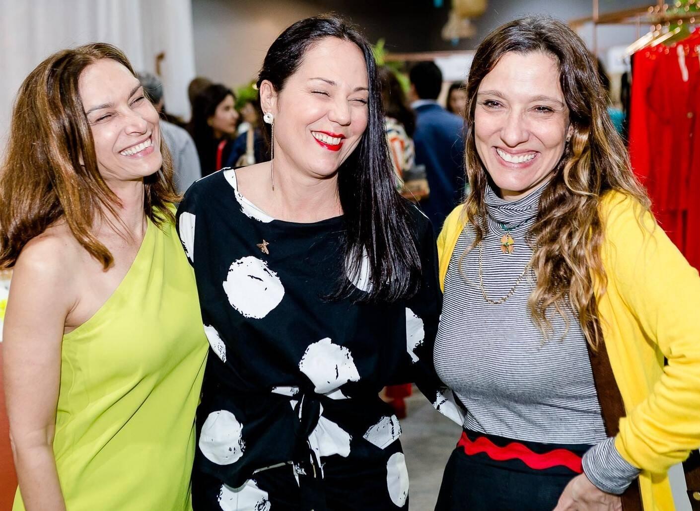 Anna Karina Lins, Tati Acioli e Isabela Capeto /Foto: Bruno Ryfer