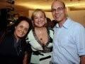 """""""ADDRESSES RIO 2008"""" —MONICA JOSIAS,ANGELA GOUVÊA VIEIRA E CACO BORGES /Foto: Cristina Granato"""