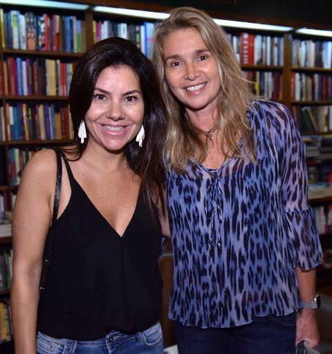 Daniella Chagas e Roberta Fonseca