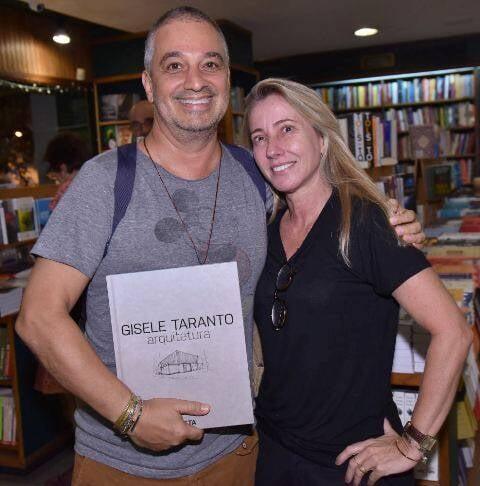 Ronaldo Simões e Claudia Cantagalli