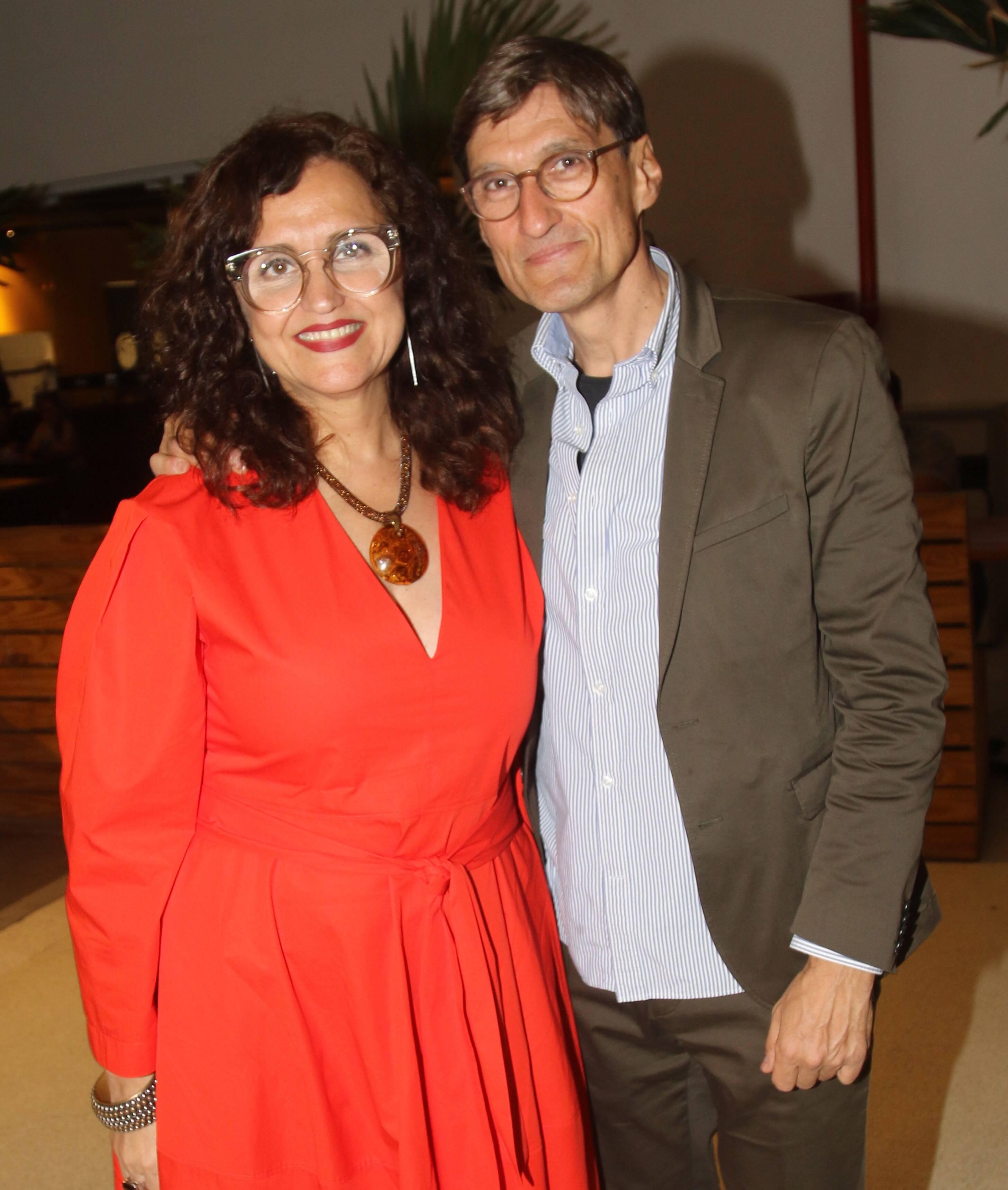 Ilda Santiago e Georges Gachot  /Foto: Eny Miranda