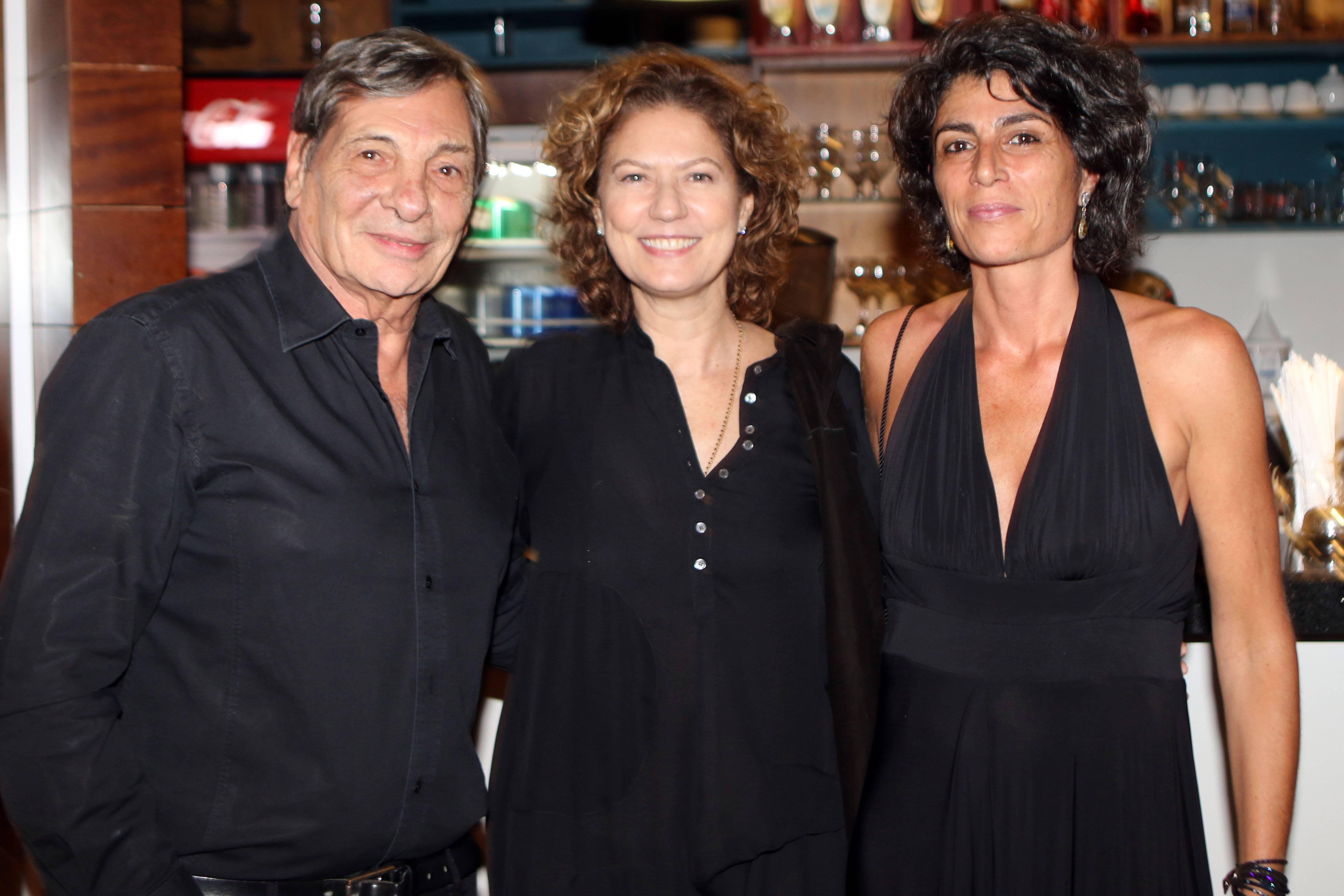 Jean Thomas Bernardini , Patricia Pillar e Laure Bacque  /Foto: Eny Miranda