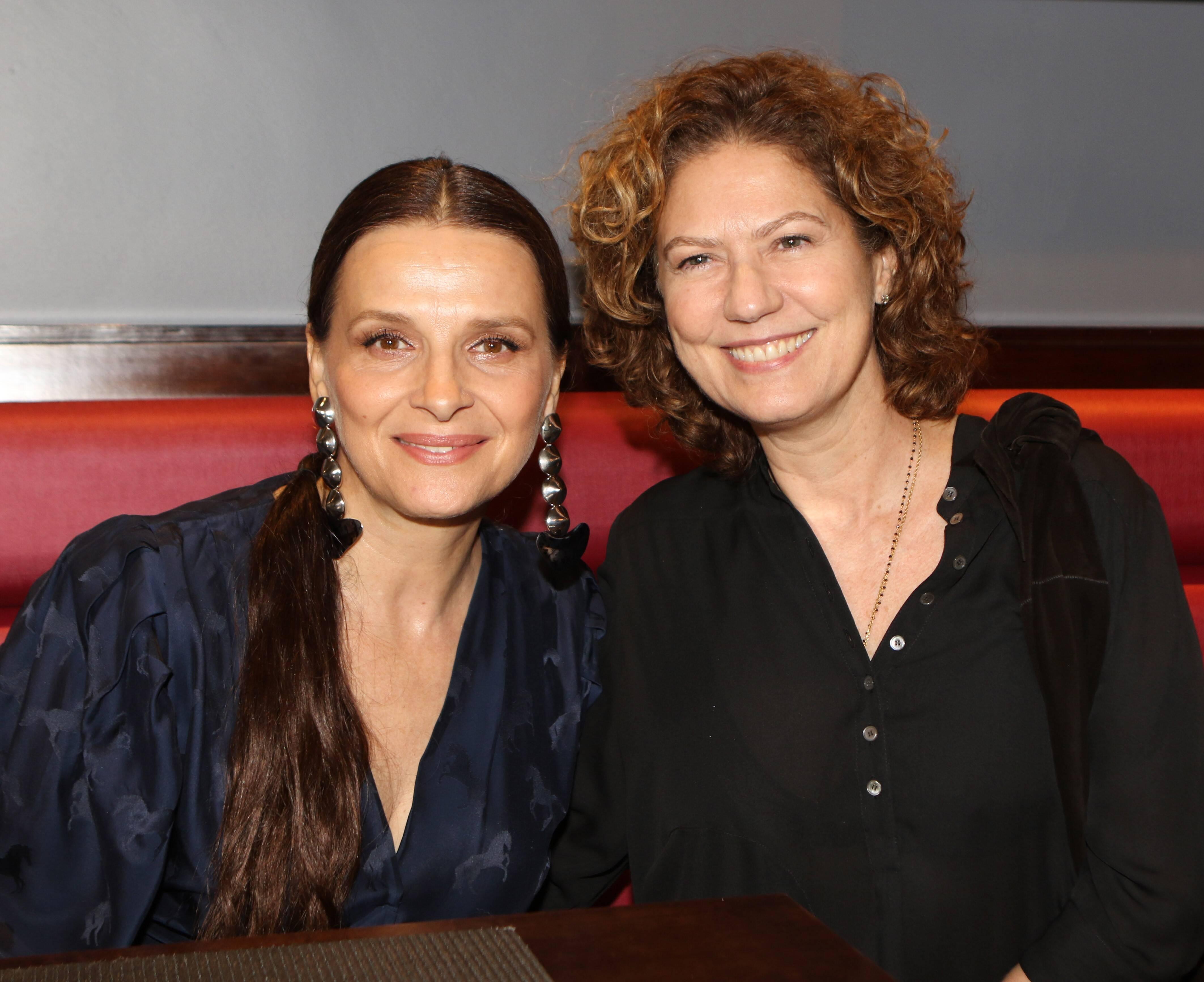 Juliette Binoche e Patricia Pillar  /Foto: Eny Miranda