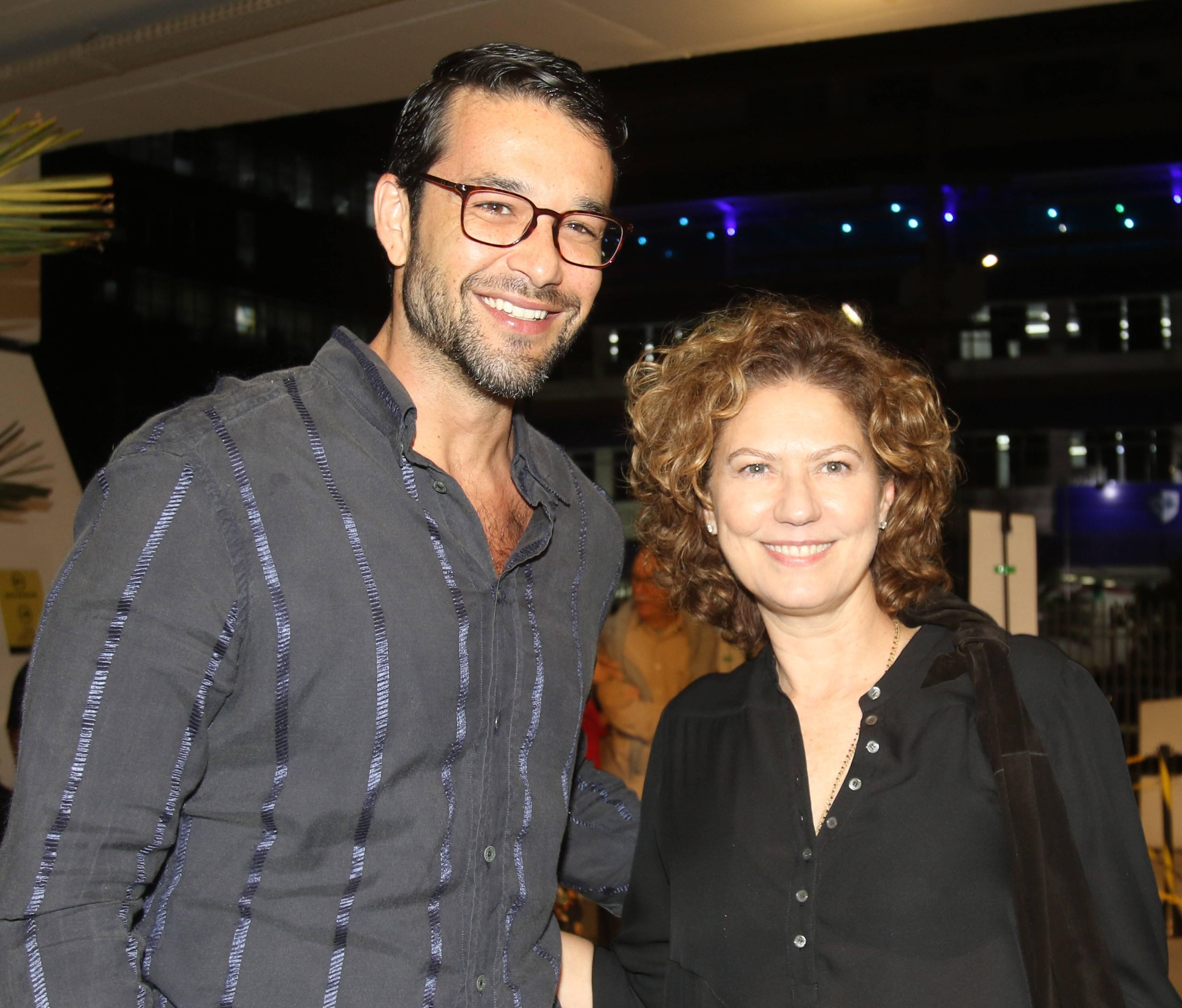 Sergio Marone e Patricia Pillar  /Foto: Eny Miranda