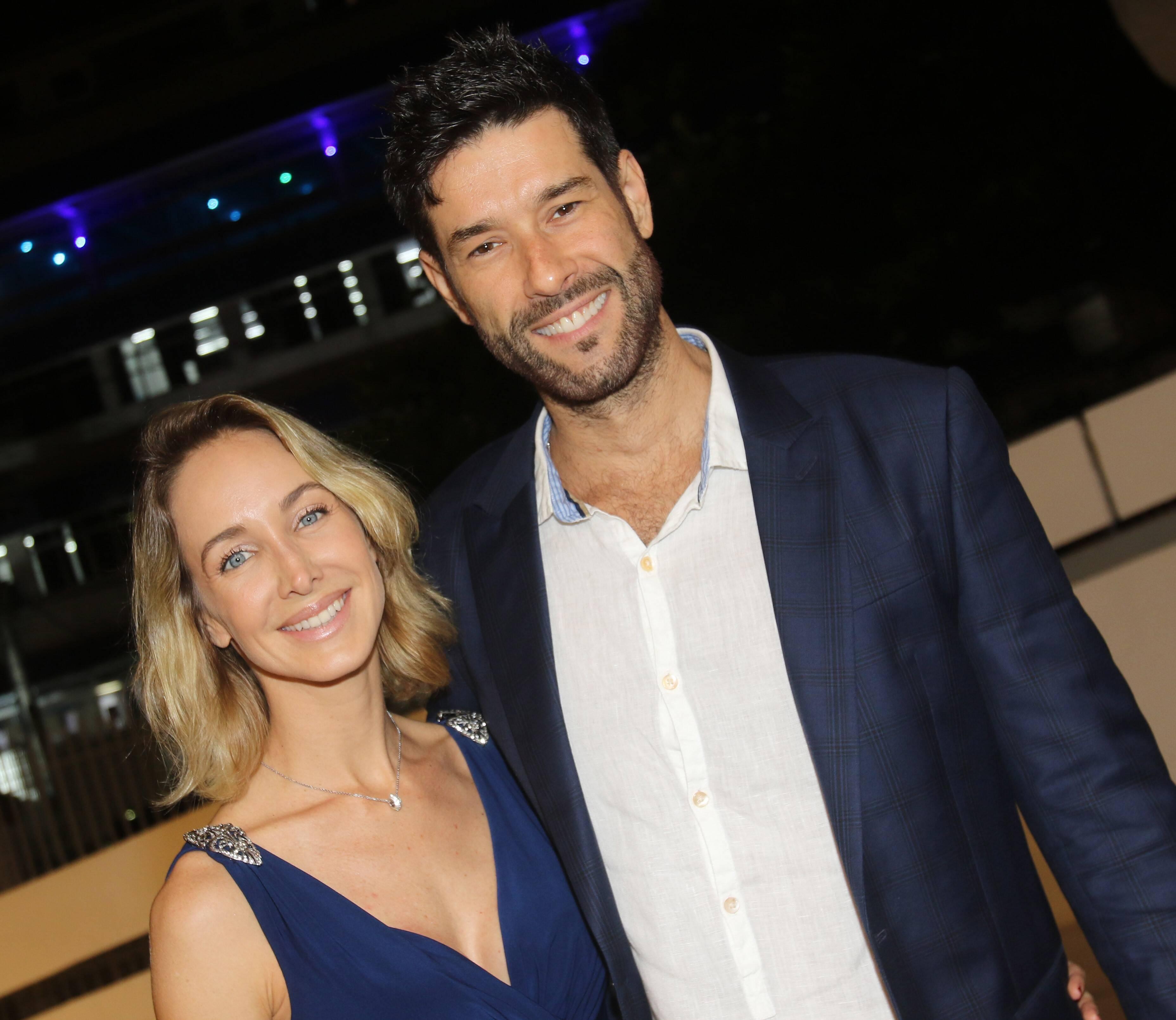 Daniel Del Sarto e Hazel Fischdick  /Foto: Eny Miranda