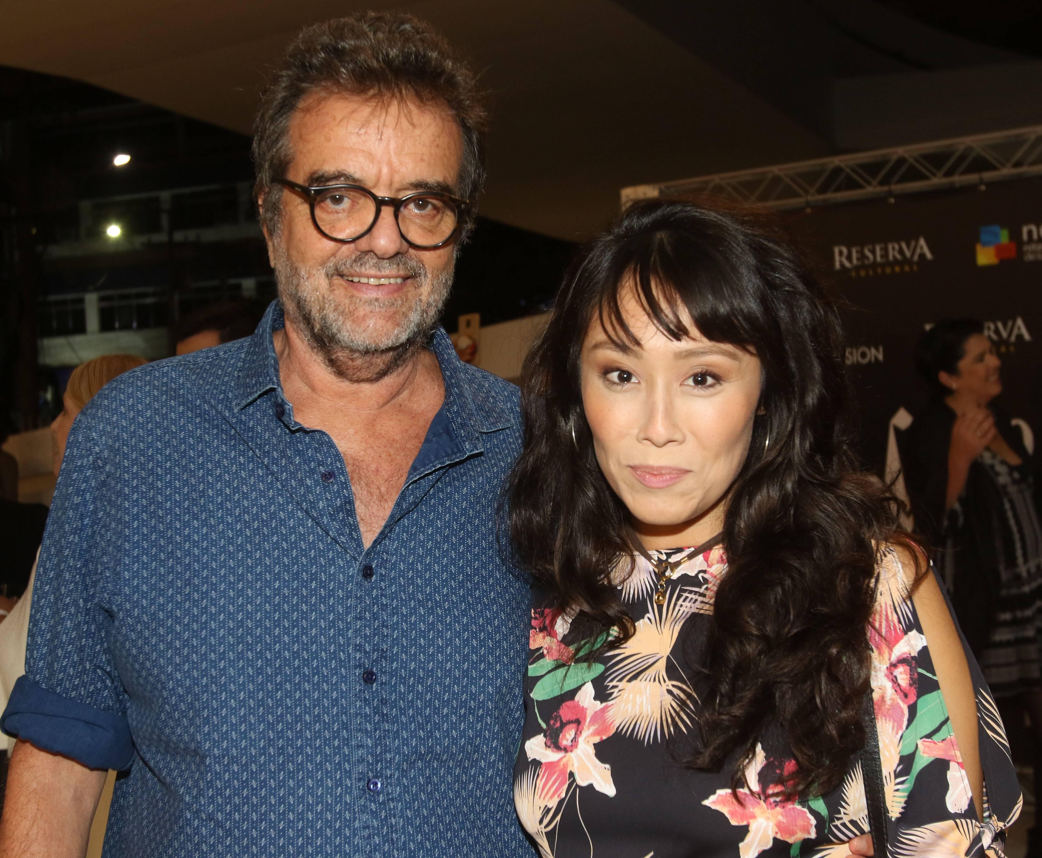 Flavio Tambellini e Kelly Eshima   /Foto: Eny Miranda