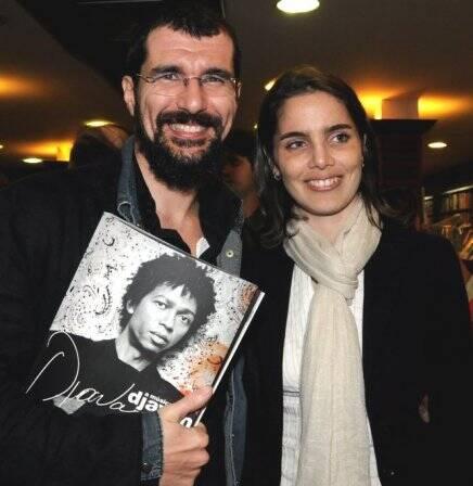 """A MÚSICA DE DJAVAN"" — NICOLA SIRI E SUA MULHER, JULIA KOILLER /Foto: Cristina Granato"