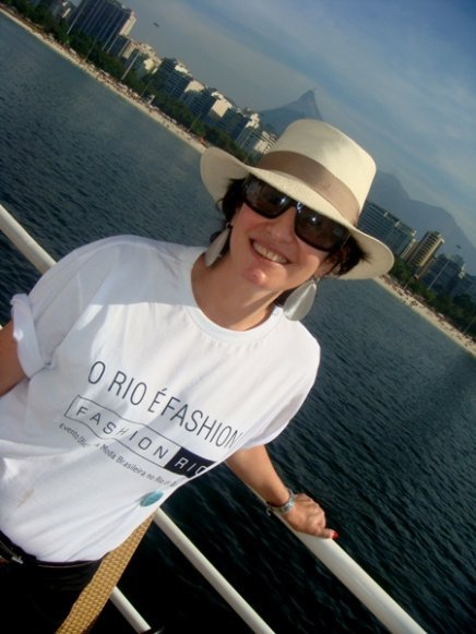 """FASHION RIO/PINK FLEET"" — ANNA CLARA HERMANN, IDEALIZADORA DO JÓIA BRASIL"