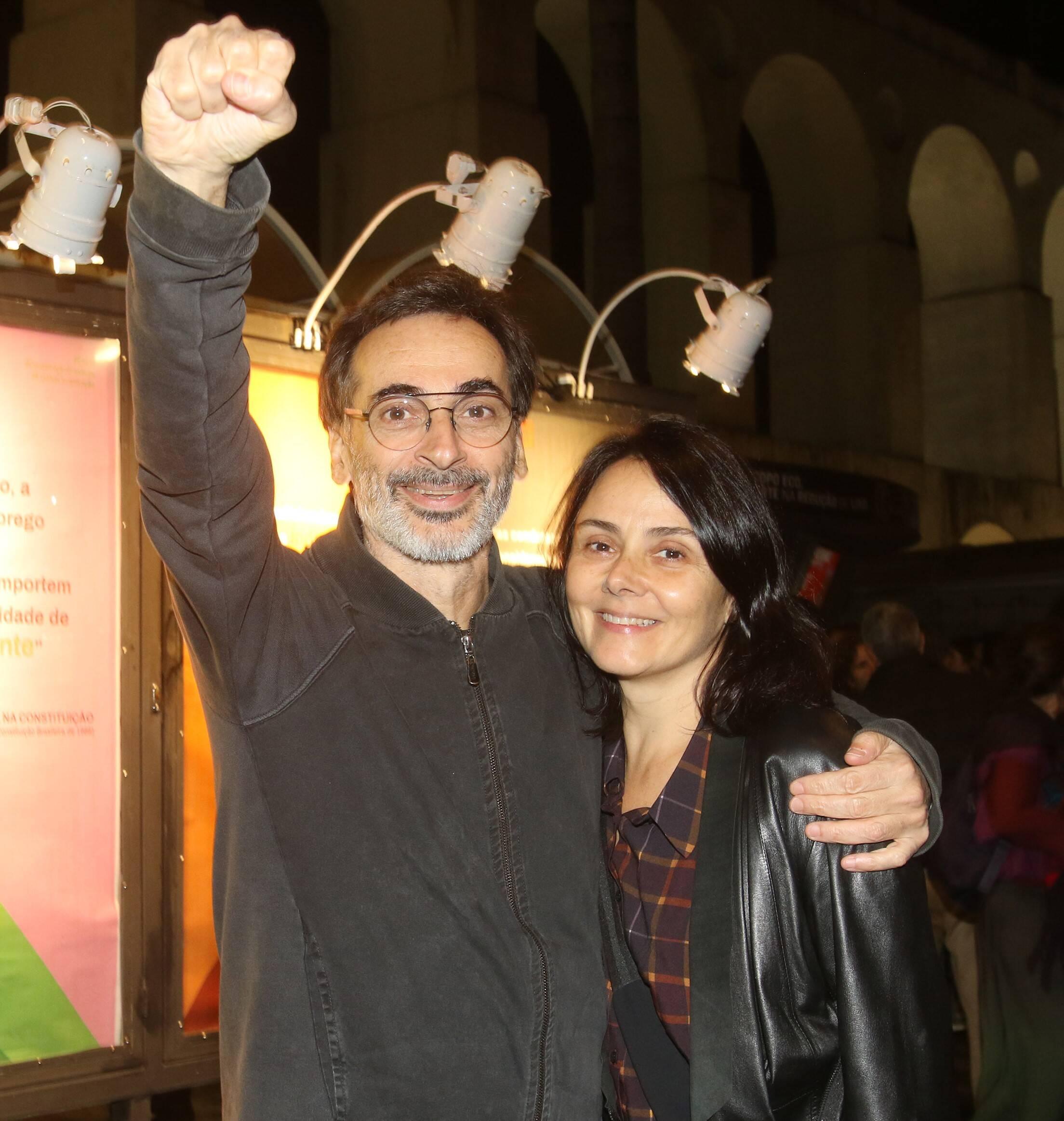 Luiz Zerbini e Mini Kerti  /Foto: Eny Miranda