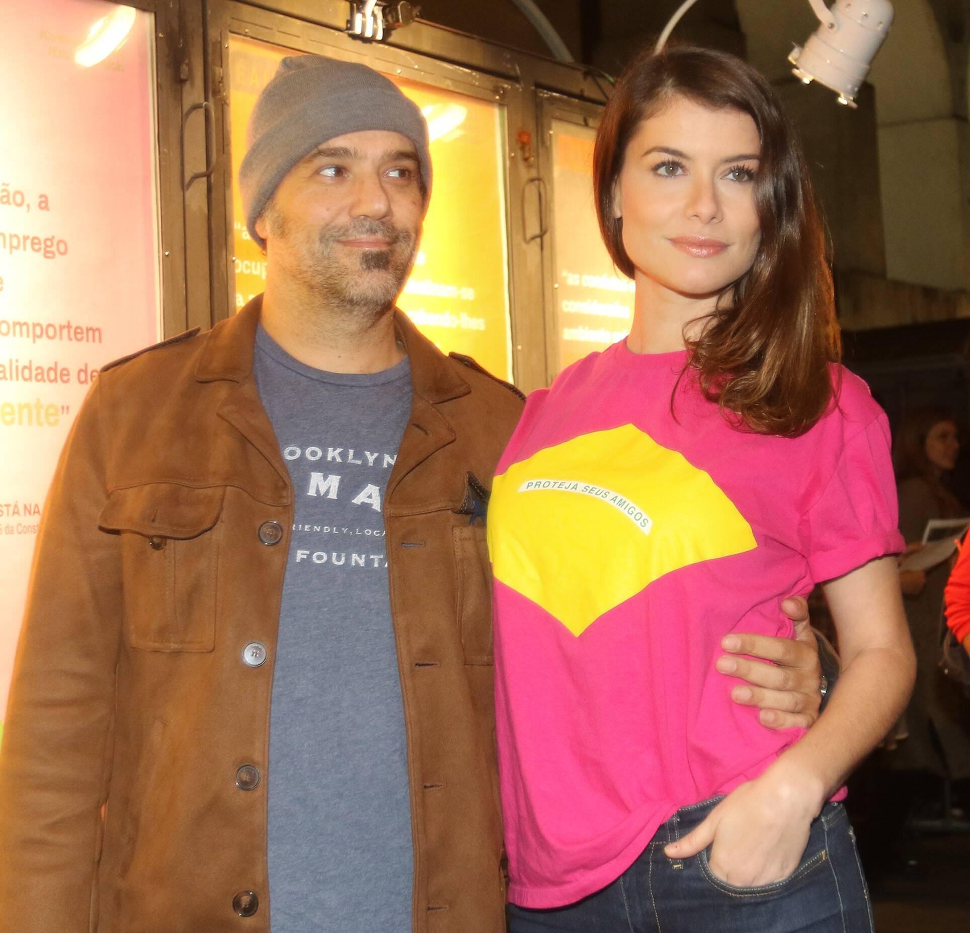 Mauro Lima e Alinne Moraes  /Foto: Eny Miranda