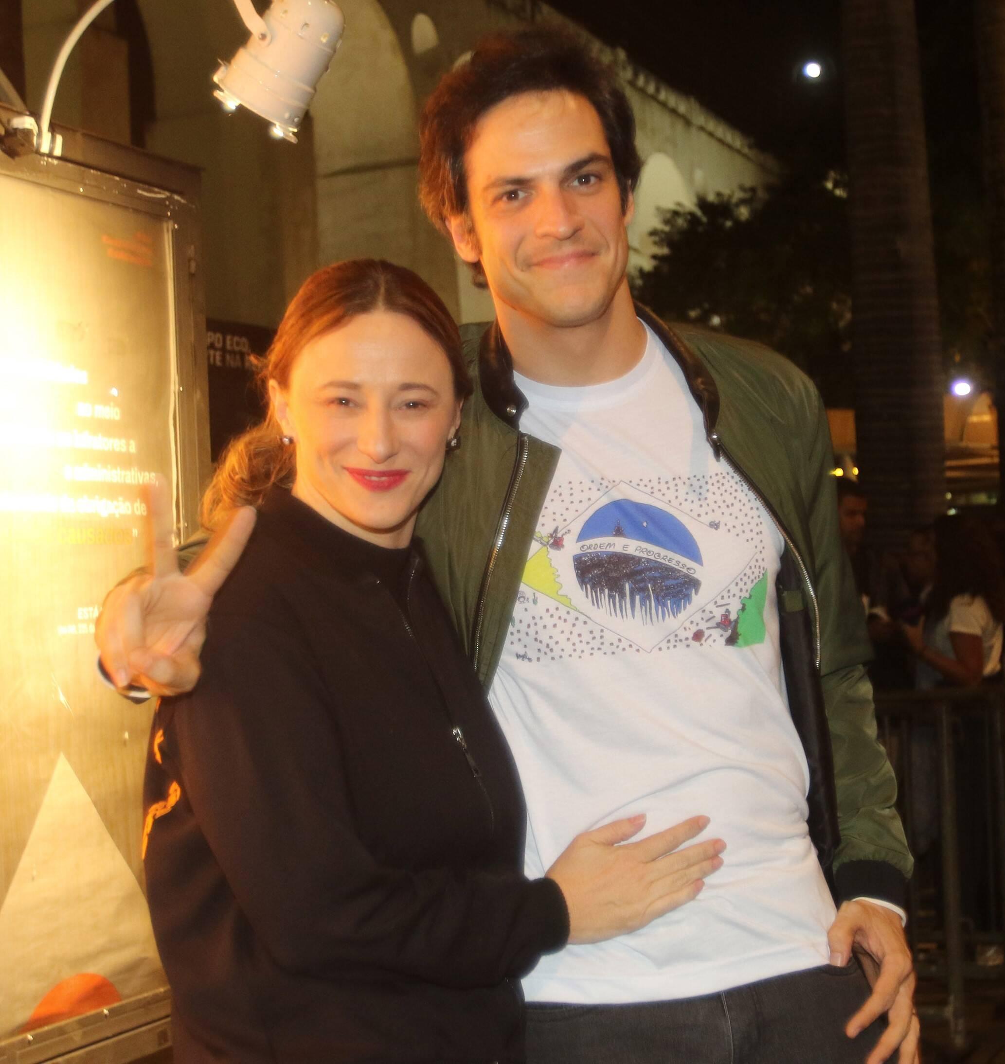 Paula Braun e Mateus Solano  /Foto: Eny Miranda