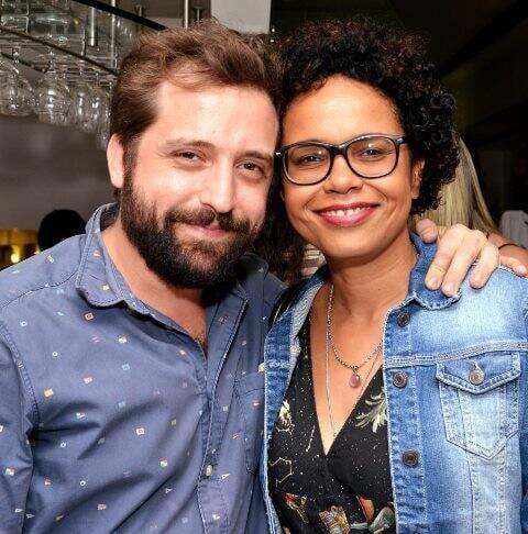 Gregório Duvivier e Teresa Cristina