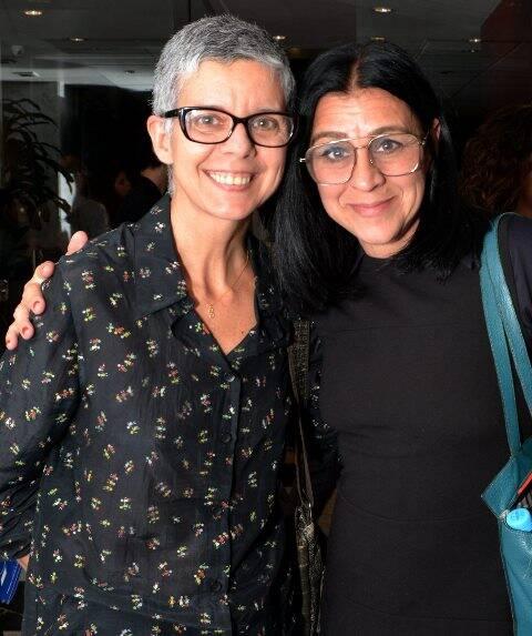 Nana Moraes e Cris Larin