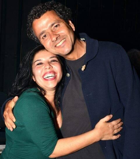 Lydia del Picchia e Marcos Palmeira