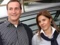 """""""POLO DAY"""" —ANDRÉAS DEGES, PRESIDENTE DA AUDI, E SIMONE CAGGIANO/Foto: Marina Malheiros"""