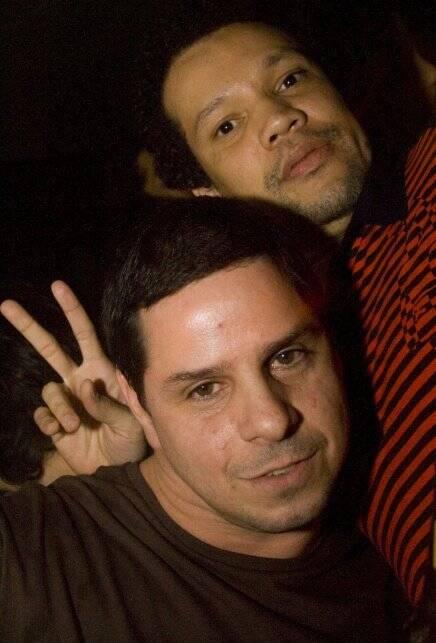 """BAILINHO"" — OS DJS NEPAL E GUSTAVO MM /Foto: Paula Kossatz"