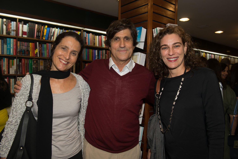 Ana Letícia Lacerda, Marcus Gasparian e Daniela Kallmann / Foto: Cristina Lacerda