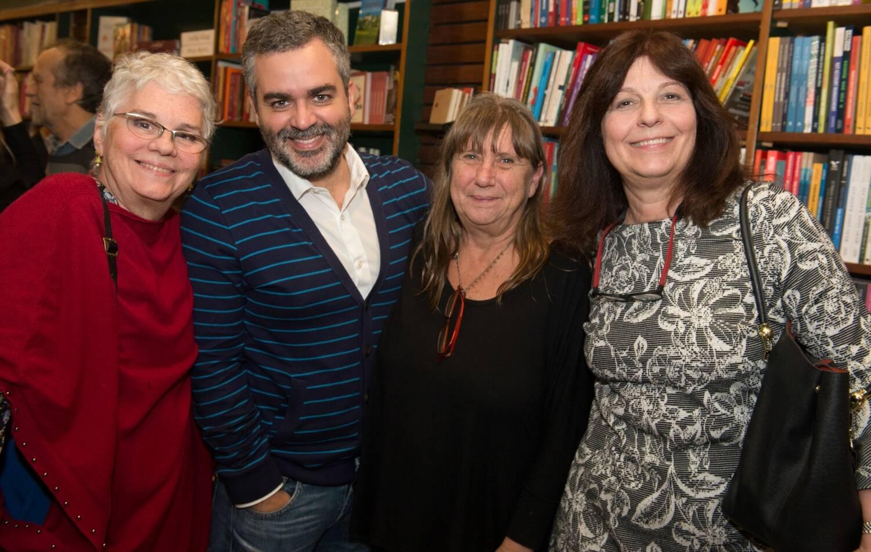 Ana Maria Santeiro, Carlos Andreazza, Laura Gasparian e Sonia Machado / Foto: Cristina Lacerda