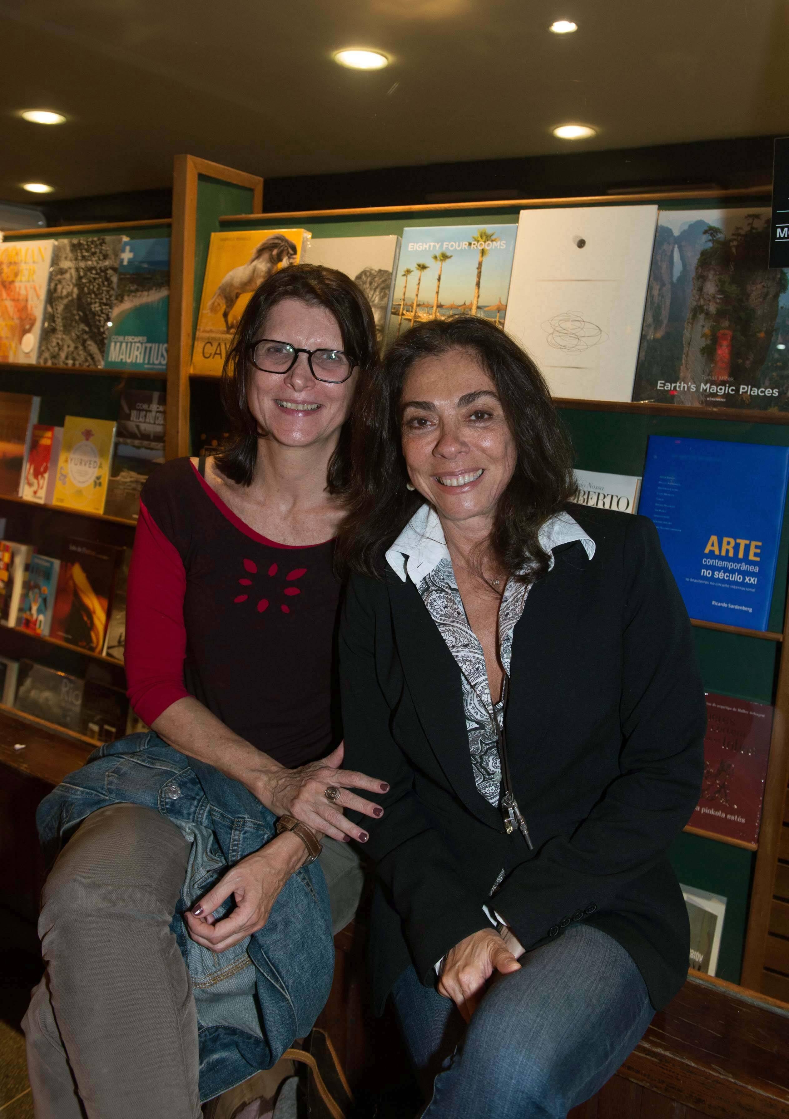 Dulce Quental e Ana Luiza Rego / Foto: Cristina Lacerda