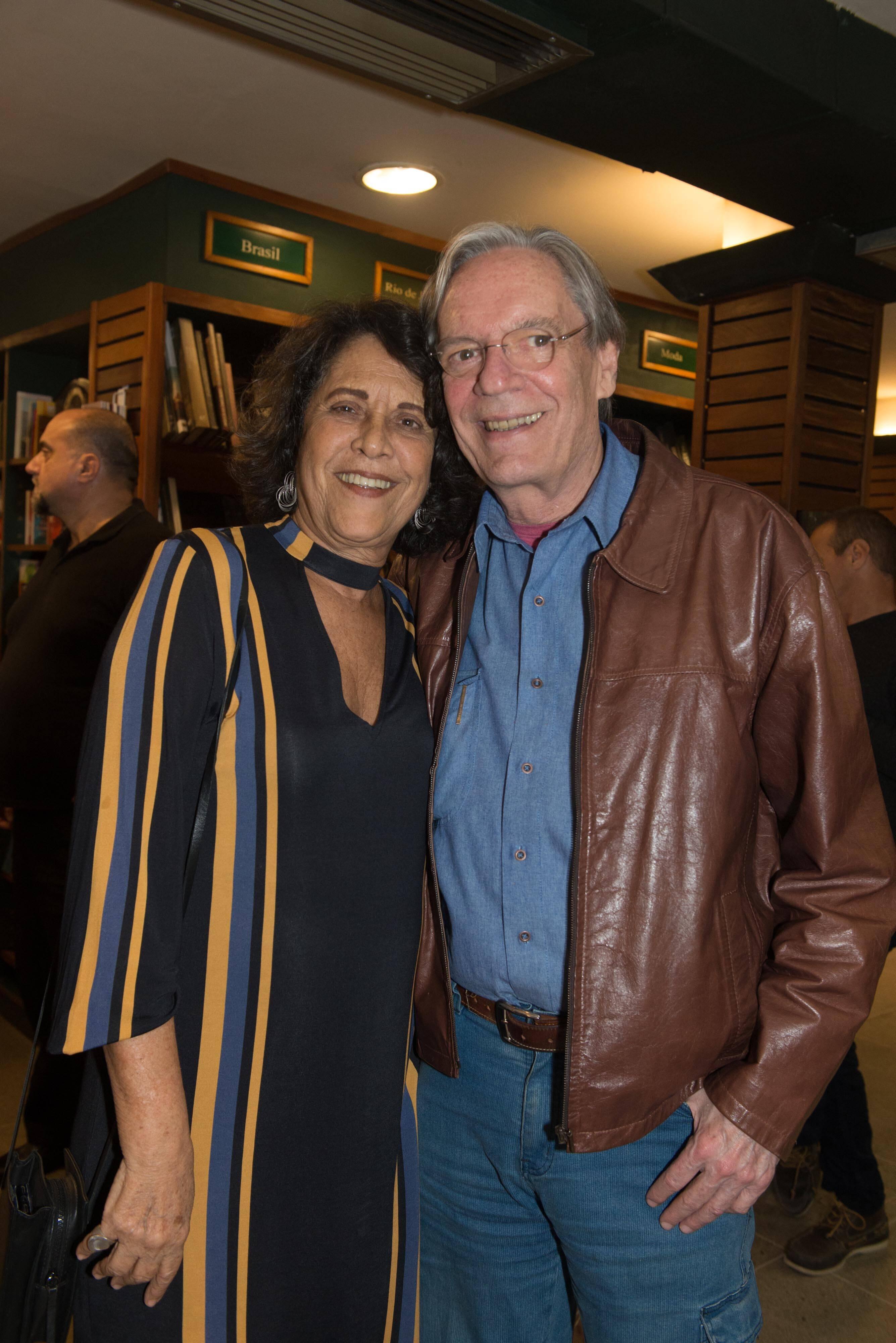 Eliana e Chico Caruso / Foto: Cristina Lacerda