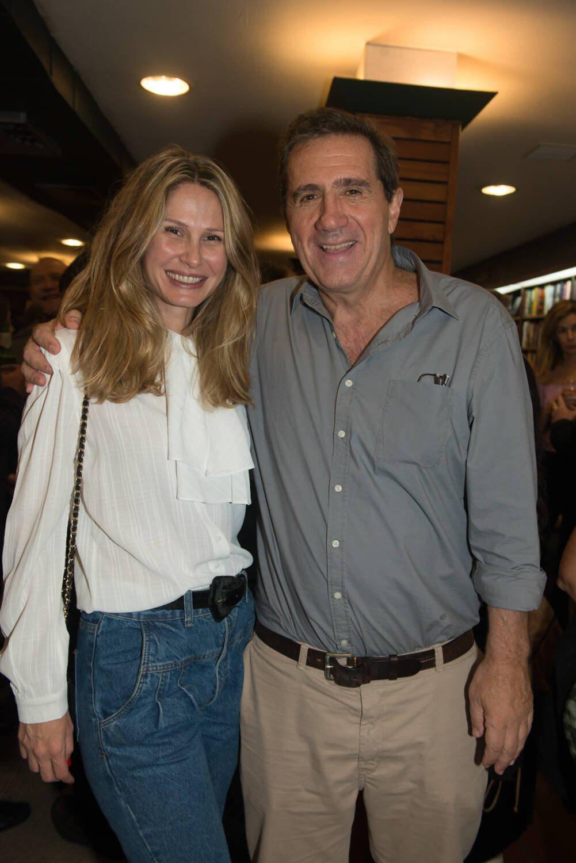 O casal Fernanda e Edu Gasparian / Foto: Cristina Lacerda