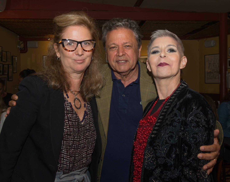 Kika Gama Lobo, Aloisito Teixeira, e Renata Ribeiro / Foto: Cristina Lacerda