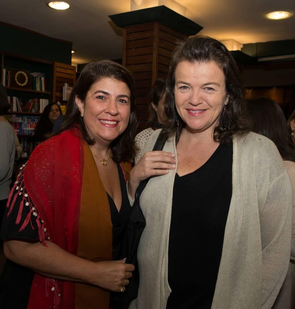 Luiza Amoedo e Carol Goulart de Andrade / Foto: Cristina Lacerda
