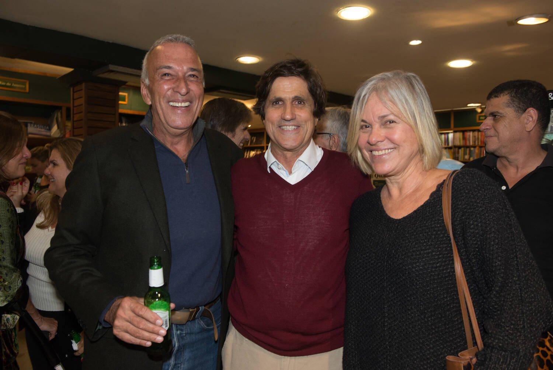 Marcus Gasparian,  Luiz e Titina de Freitas / Foto: Cristina Lacerda