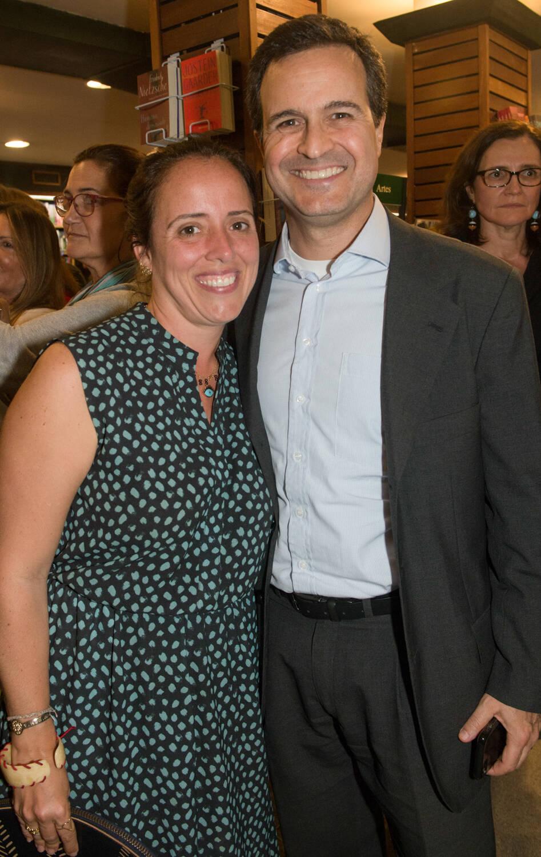 Paula e Paulo Gasparian / Foto: Cristina Lacerda