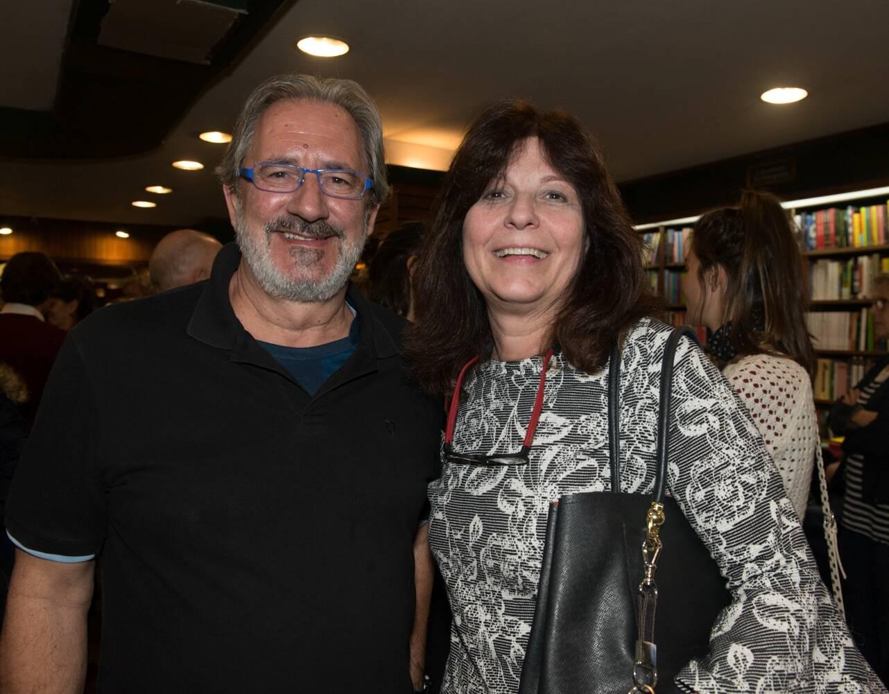 Paulo Lima e Sonia Machado / Foto: Cristina Lacerda
