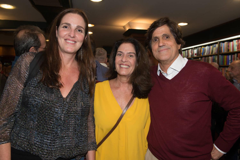 Rafaela Garcez, Lulu Macedo e Marcus Gasparian / Foto: Cristina Lacerda
