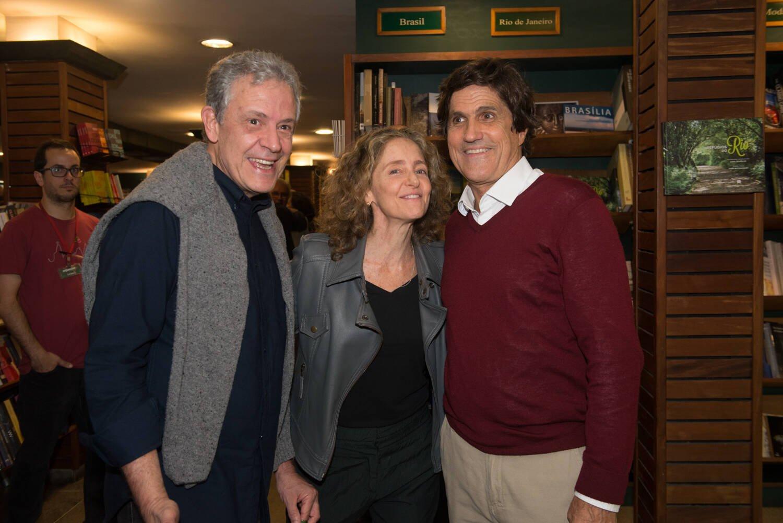 Roberto Zentgraf e Bettina Guelmann e Marcus Gasparian / Foto: Cristina Lacerda