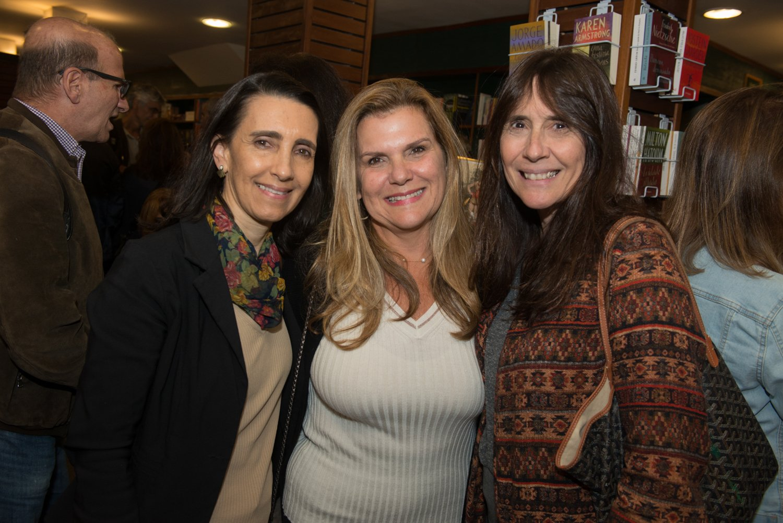 Tati Torres, Cintia Pontes e Claudia Ferraz / Foto: Cristina Lacerda