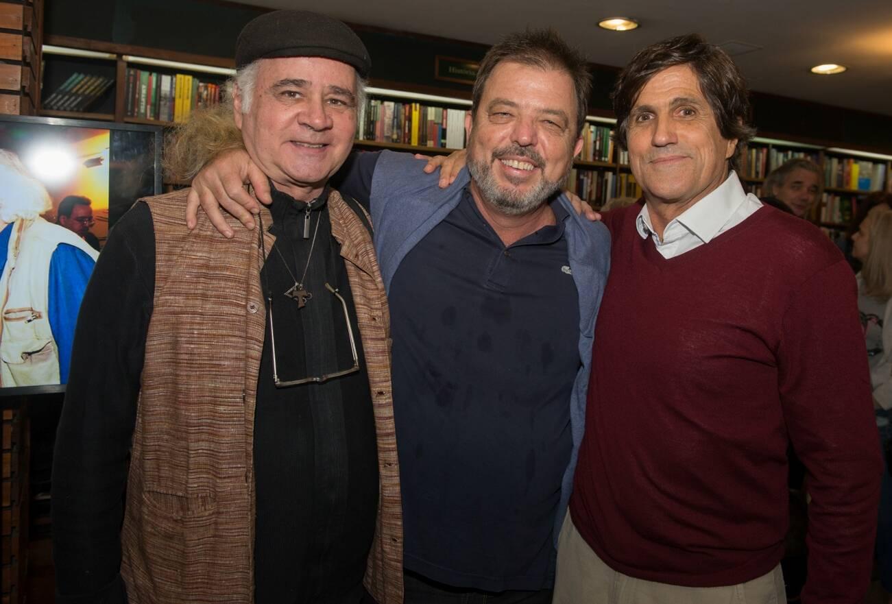Waldemar Falcão, Maneco Galliez Pinto e Marcus Gasparian / Foto: Cristina Lacerda