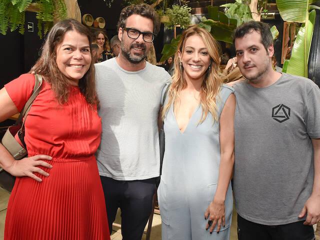 Daniela Falcão, Luciano Ribeiro, Camila Garcia e Fernando Sapuppo