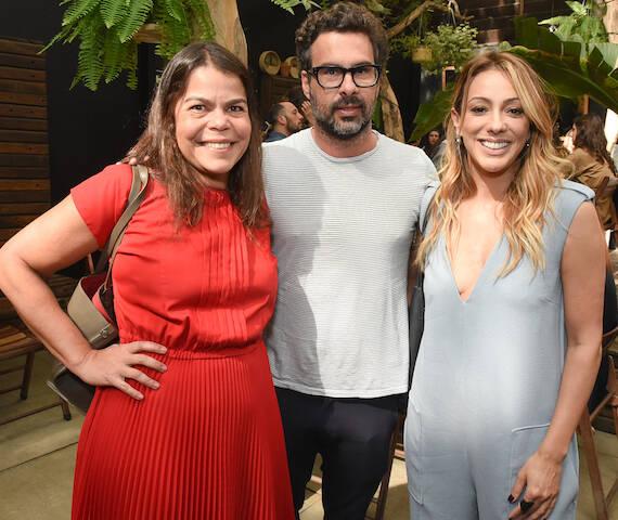 Daniela Falcão, Luciano Ribeiro e Camila Garcia